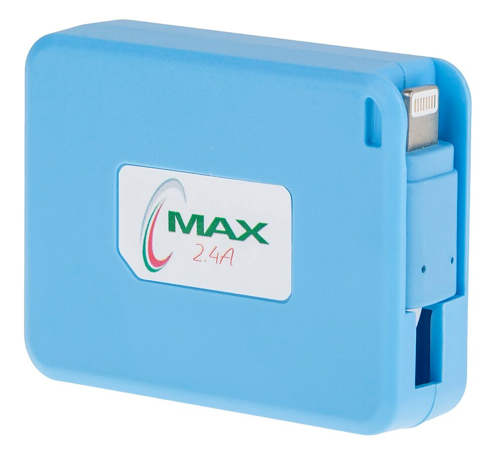 Max USB for Lightning 2.4A ��