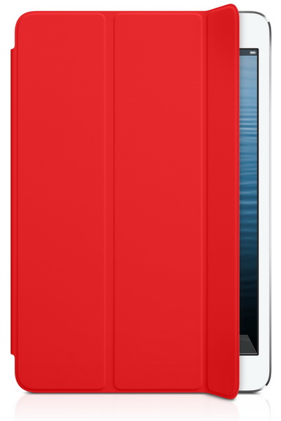 Apple iPad mini Smart Cover - Polyurethane (MD828LL/A) - ������������ ����� ��� iPad mini (Red)