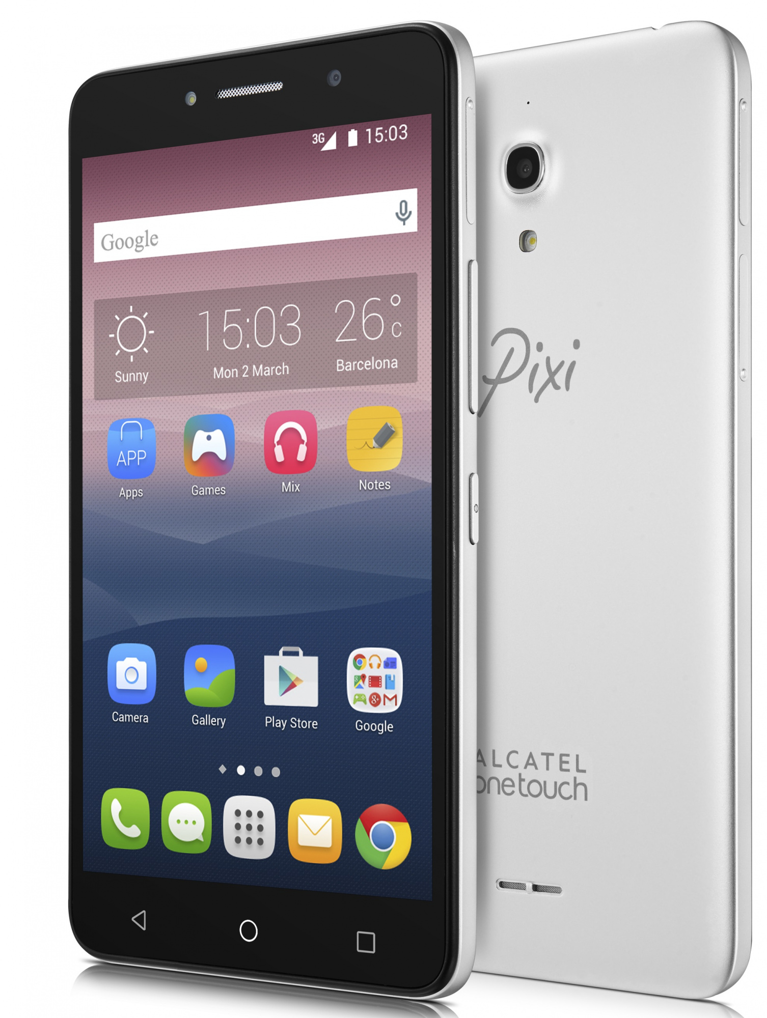 One Touch Pixi 4 смартфон alcatel one touch pixi 4 6 8050d black