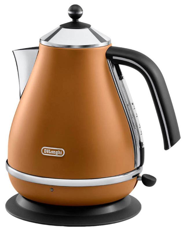 DeLonghi KBOV 2001 - электрический чайник (Brown)