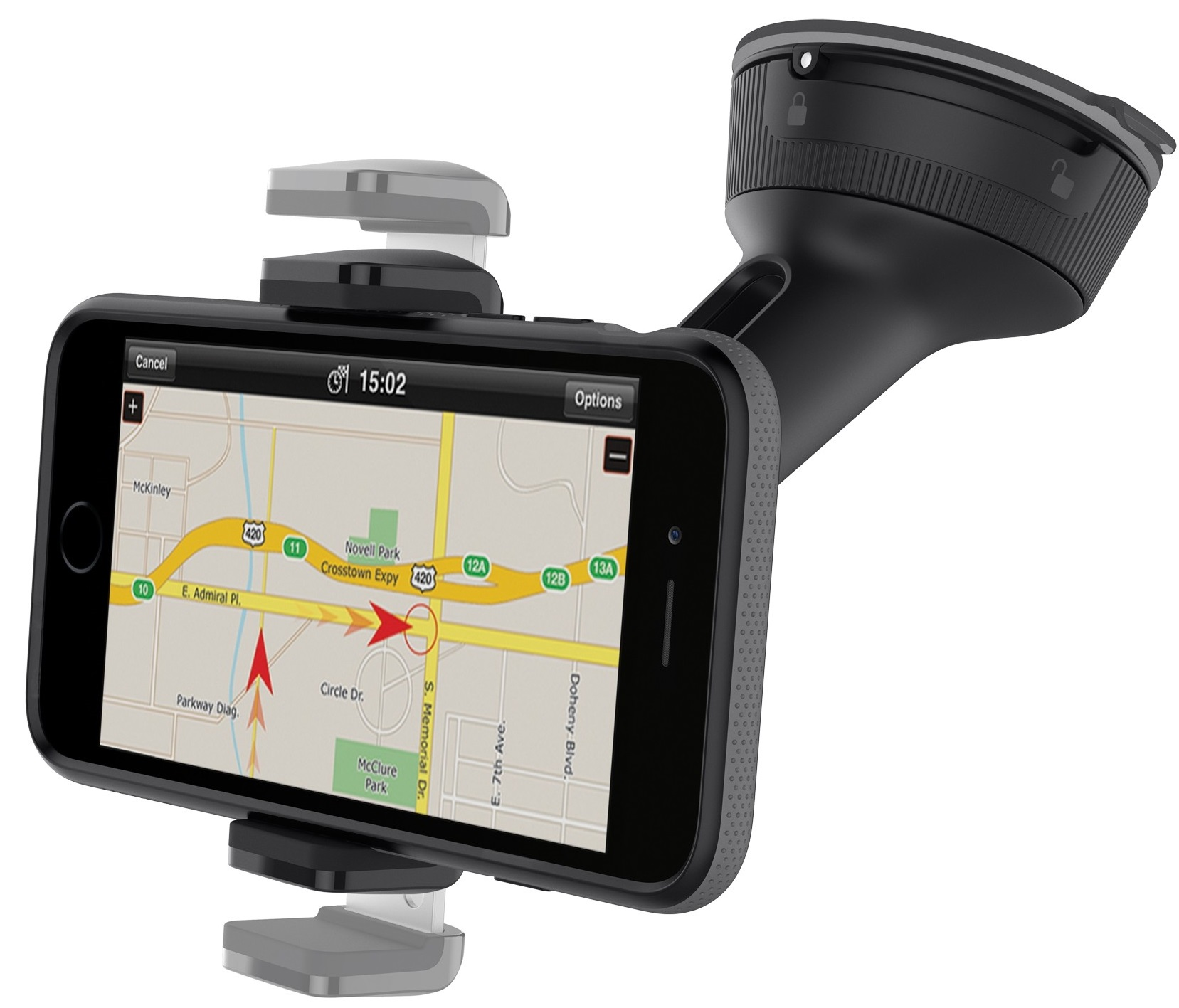 Автомобильный держатель Belkin Car Universal Mount (F8M978bt) для смартфонов (Black)