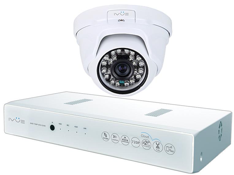 iVUE 1080N-1MPX-1D - комплект видеонаблюдения (White)