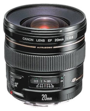 Canon EF 20mm 2509A010