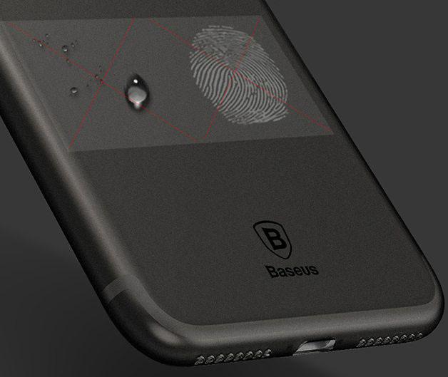 Чехол-накладка Baseus Wing Case (WIAPIPH6SP-E01) для iPhone 6/6S Plus (Transparent Black)