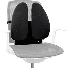 Fellowes Back Angel (FS-80264) - поддерживающая подушка для спины (Black)