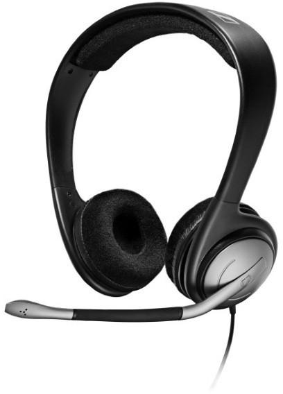 Sennheiser PC 151 (500922) - проводная стереогарнитура (Black) от iCover