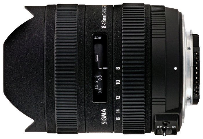Sigma AF 8-16mm f/4.5-5.6 203955