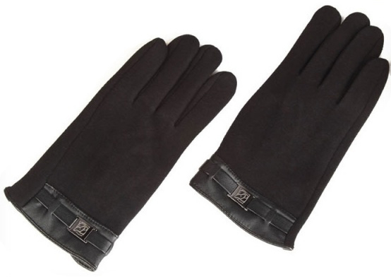 iCasemore Clasp (iCM_clasp-blk) - кашемировые перчатки (Black) перчатки для сенсорных экранов icasemore gloves icm clasp blk black