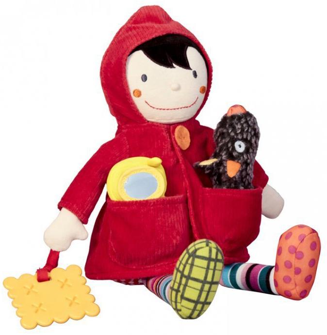 EbuLobo Одень Красную Шапочку (01EB0008) - развивающая игрушка