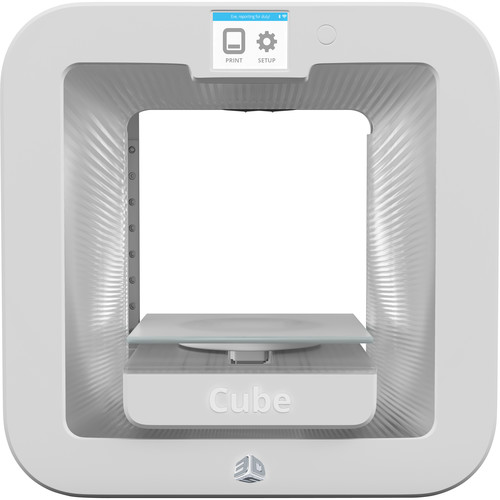 3d systems 3D Systems Cube 3 - принтер для 3D печати (White)