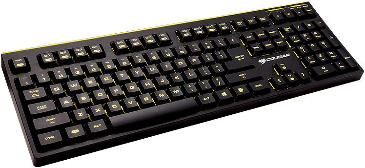 Cougar 300K - игровая клавиатура (Black)Проводные клавиатуры<br>Игровая клавиатура<br>
