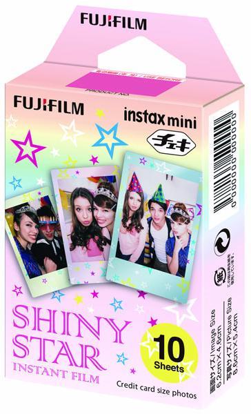 Fujifilm Instax Mini (inst_star) - картридж для фотоаппарата (Shiny Star) fujifilm hs50exr купить