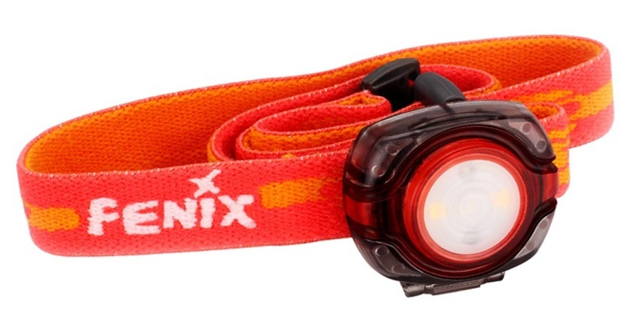 Fenix (HL05R) - налобный фонарь (Red)