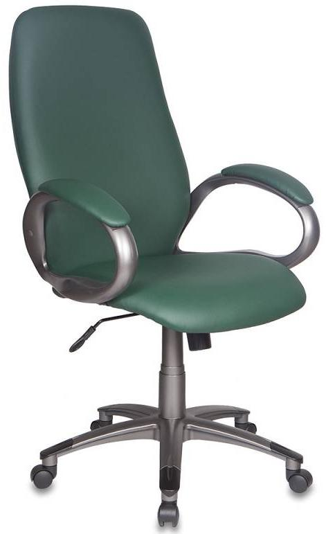 Бюрократ T-700DG/OR-01 - кресло руководителя (Green) от iCover