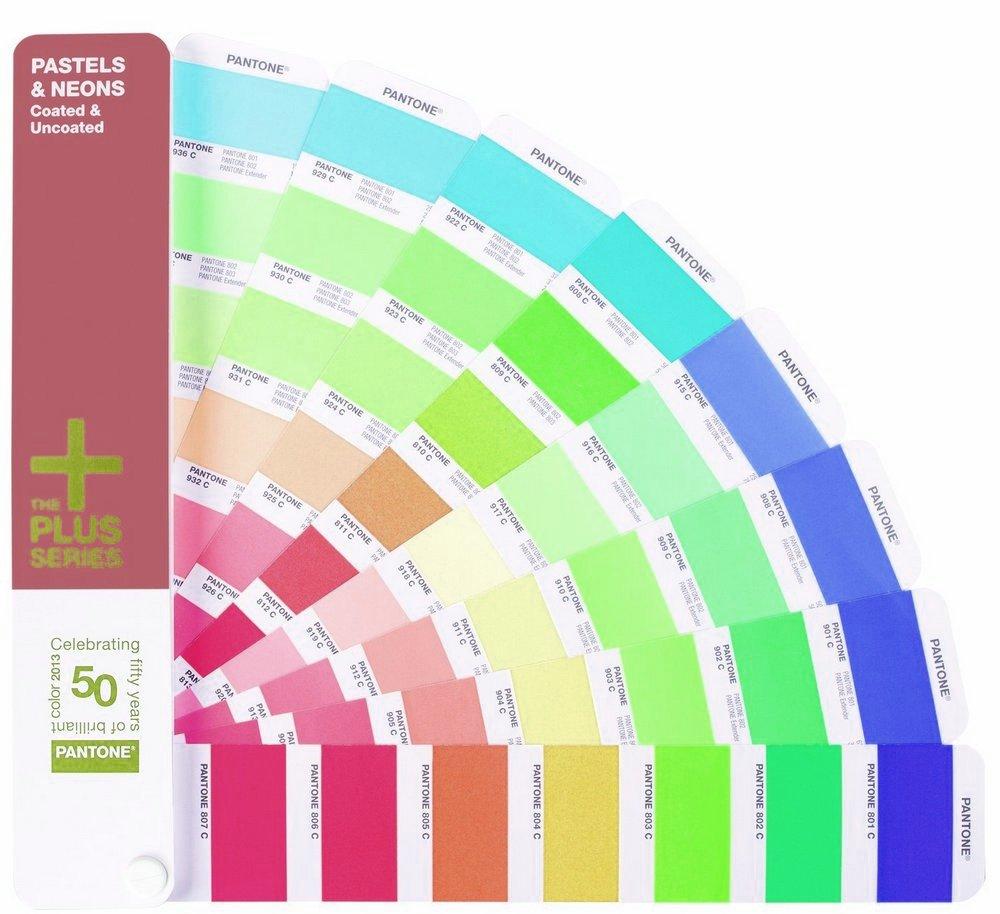 Pantone Pastels & Neons Guide Coated/Uncoated (GG1404) - цветовой справочник  - купить