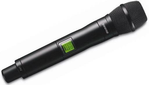 Shure UR2/KSM9/BK J5E (A041869) - передатчик UHF-R c микрофоном KSM9 (Black)  цена