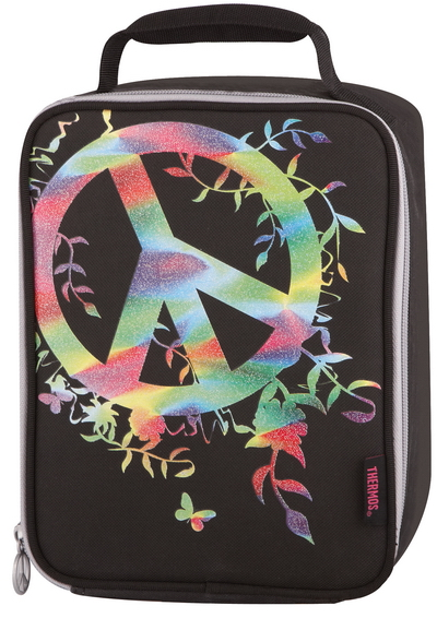 Thermos Peace Sign (889799) - детская термосумка (Black) louis fidge the magic flute comprehension and vocabulary workbook level 3