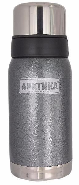 Арктика 0,5 л (106-500) - термос с узким горлом американский дизайн (Серый)