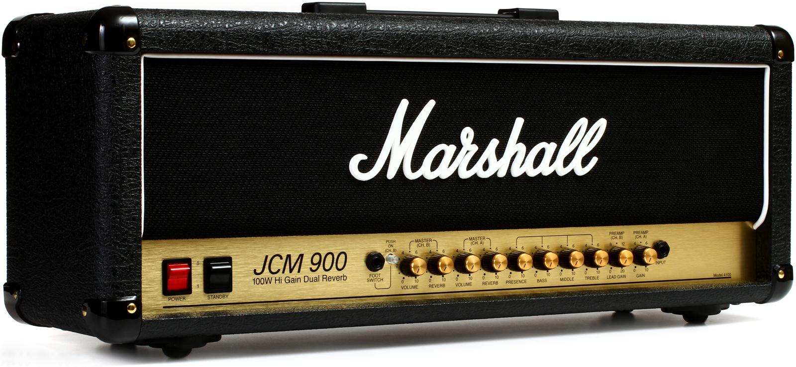 Marshall JCM900 4100 - гитарный усилитель (Black)