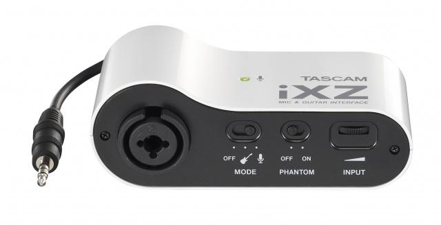 Tascam iXZ (A042178) - микрофонный и гитарный интерфейс (White) от iCover