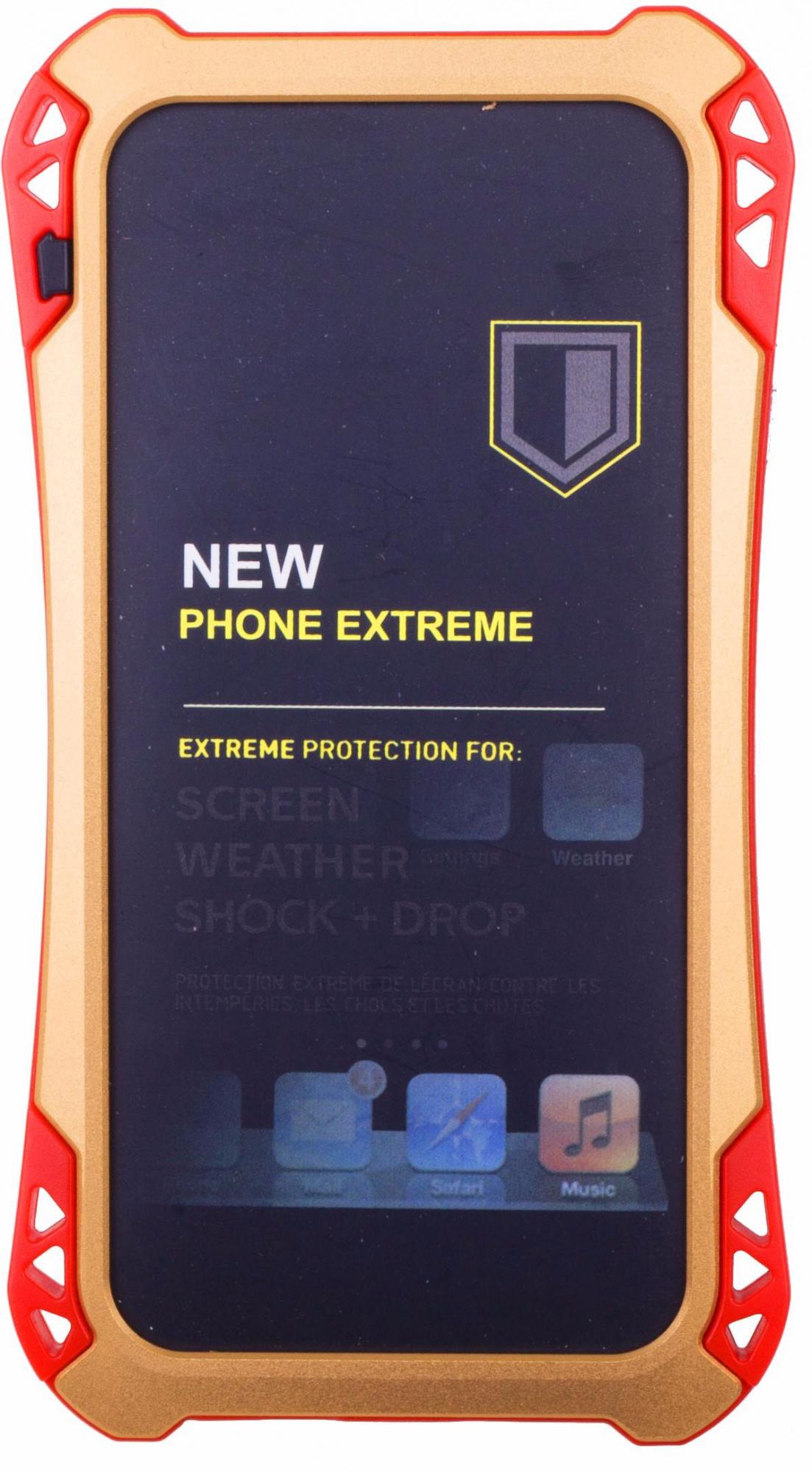 Amira Phone Extreme - защитный чехол для iPhone 6/6S (Gold/Red)
