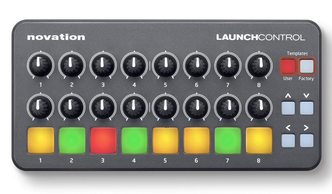 LaunchMIDI-контроллеры и клавиатуры<br>MIDI-контроллер<br>