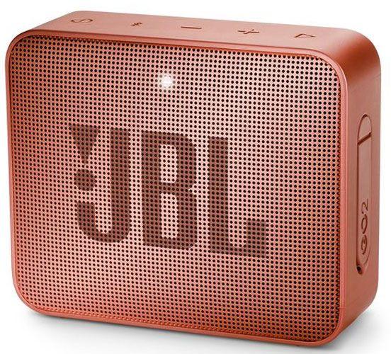 Портативная акустика JBL Go 2 (Sunkissed Cinnamon) фото
