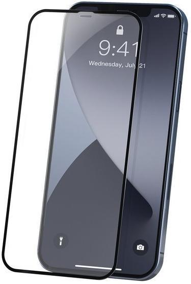Защитное стекло Baseus 0.23mm (SGAPIPH67N-PE01) для iPhone 12 Pro Max (Black)