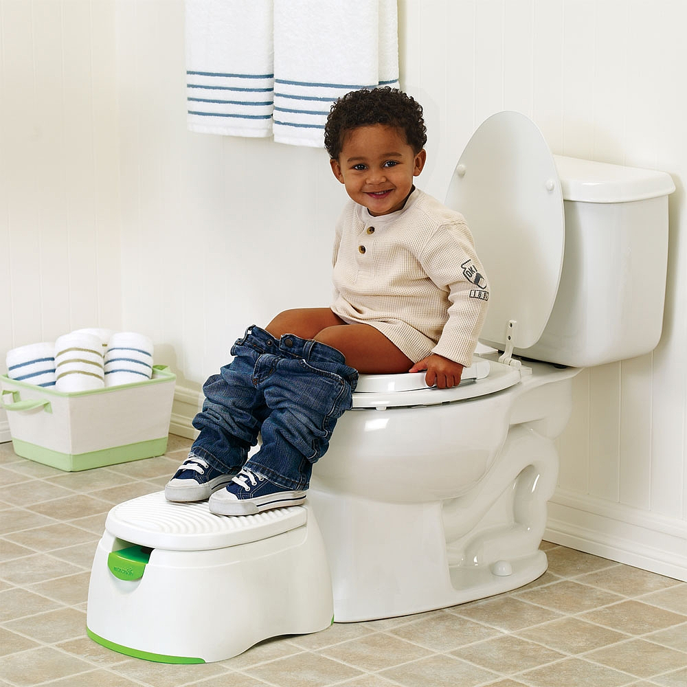 Potty shield for adults
