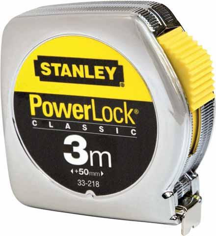Stanley Powerlock 3m (1-33-218) - рулетка без упаковки (Silver)