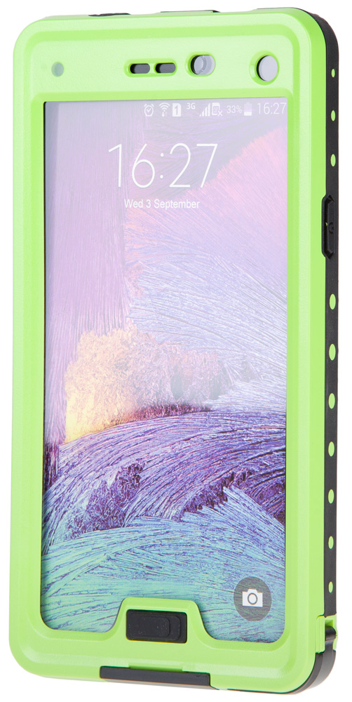 Redpepper Waterproof Case - водонепроницаемый чехол для Galaxy Note 4 (Green)