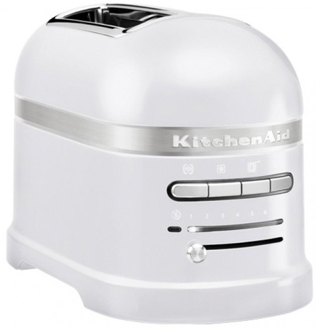 KitchenAid Artisan 2-Slice Automatic Toaster (5KMT2204EFP) - тостер на 2 хлебца (Frosted Pearl)