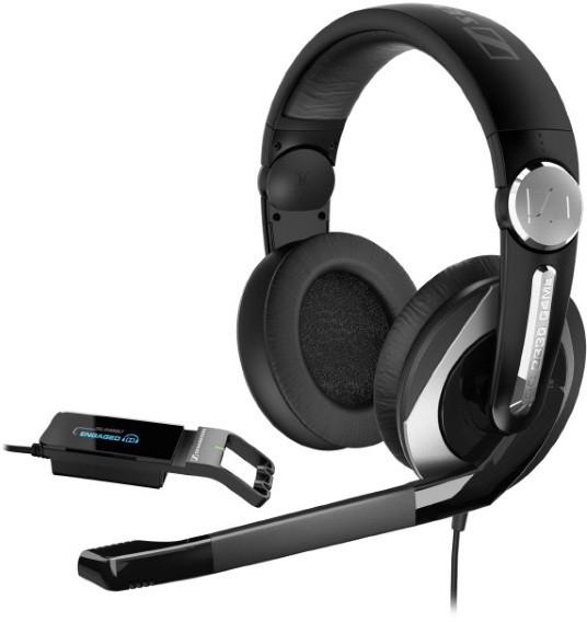 Sennheiser PC 333D (504126) - игровая гарнитура (Black)