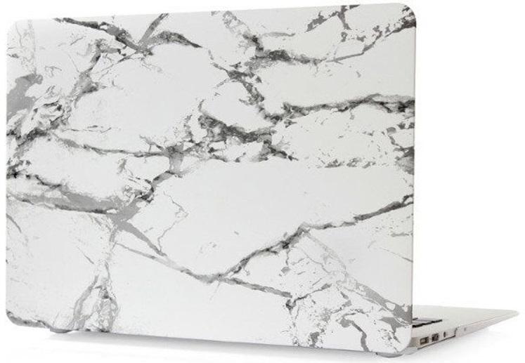 Чехол-накладка пластиковая Novelty Electronics для Macbook 12 (White Marble)