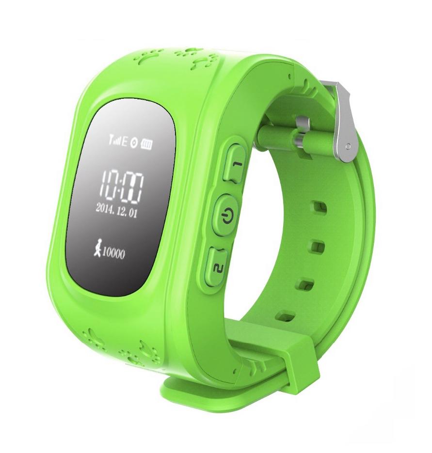 Кнопка жизни К911 - детские часы-телефон с GPS-геолокацией (Green)
