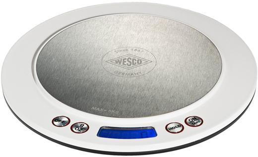 Wesco 322251-01 - цифровые кухонные весы (White)