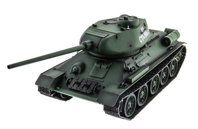 Heng Long T34-85 PRO 1:16  - радиоуправляемый танк (Green)