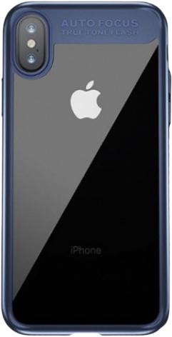 Чехол Baseus Suthin (ARAPIPHX-SB15) для Apple iPhone X (Dark Blue)