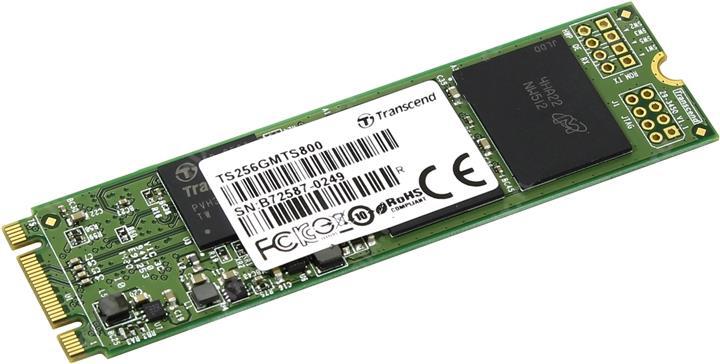 Transcend MTS800 256 Gb (TS256GMTS800) - SSD-накопитель