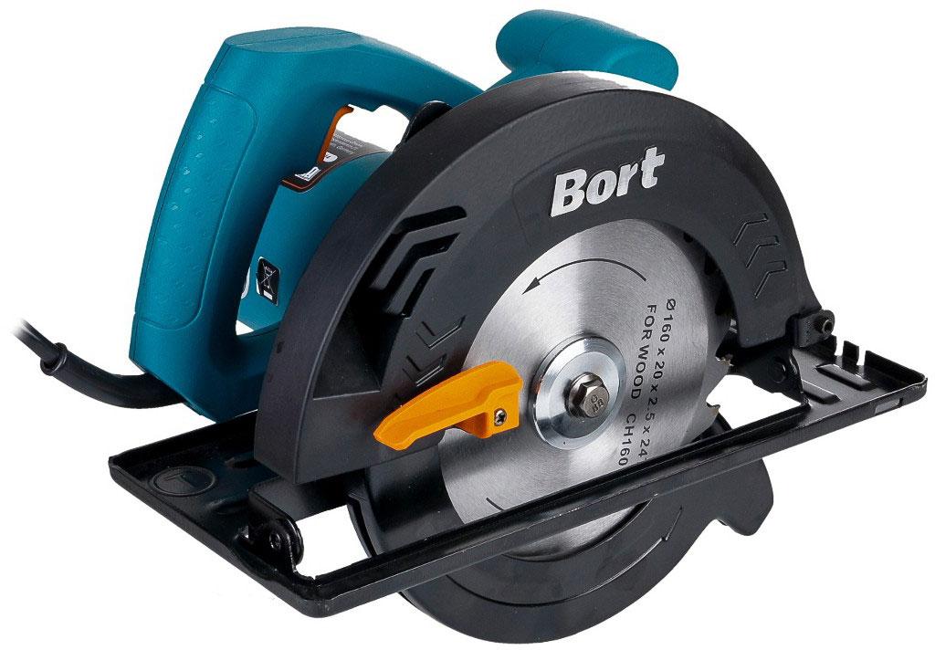 Bort BHK-185U (93727222) - циркулярная пила (Blue)