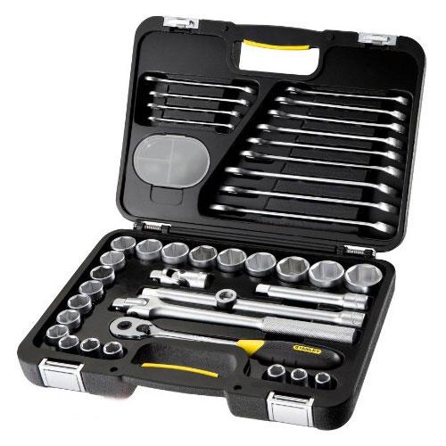 Stanley 1-99-056 - набор торцевых головок и ключей (40 предметов)