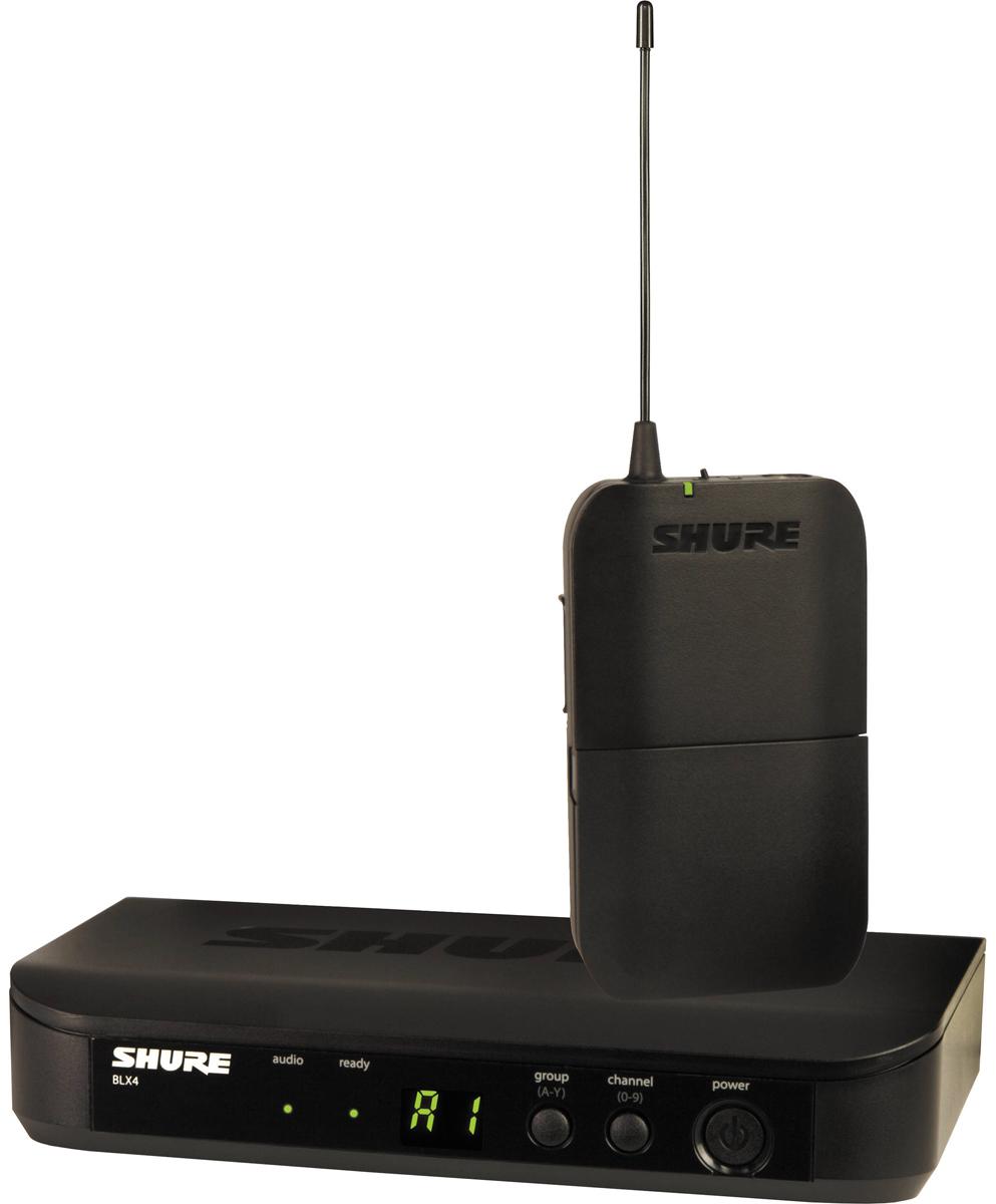 Shure BLX14E K3E - радиосистема с портативным поясным передатчиком (Black) A045780