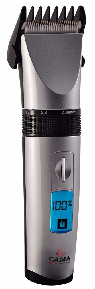 GA.MA GC 585 - машинка для стрижки волос (Silver/Black)