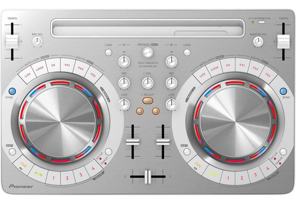 Pioneer DDJ-WEGO3-W - DJ-контроллер (White)DJ станции и контроллеры<br>DJ-контроллер<br>