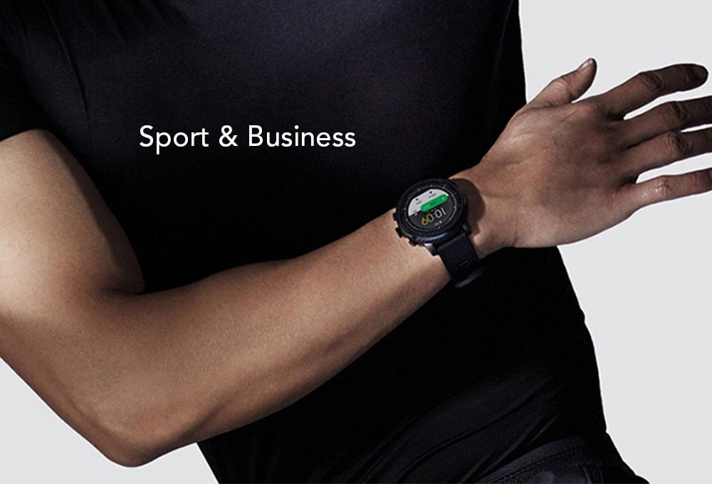 Спортивные часы Xiaomi Amazfit Stratos Sports Watch 2 (Black)