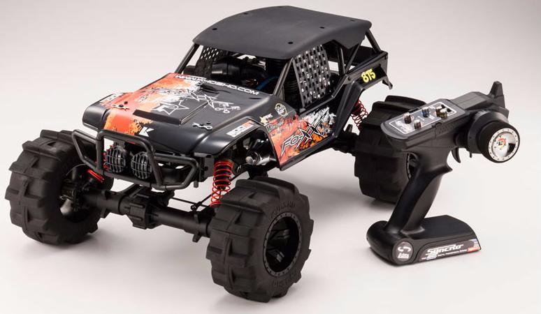 Kyosho Nitro FO-XX 1:8 - радиоуправляемый автомобиль (Red)