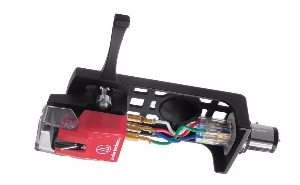 Головка звукоснимателя Audio-Technica AT100E + хедшелл HS10 (AT100EHSB)