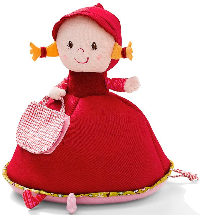Lilliputiens Красная Шапочка: музыкальная мягкая игрушка-копилка (86605)