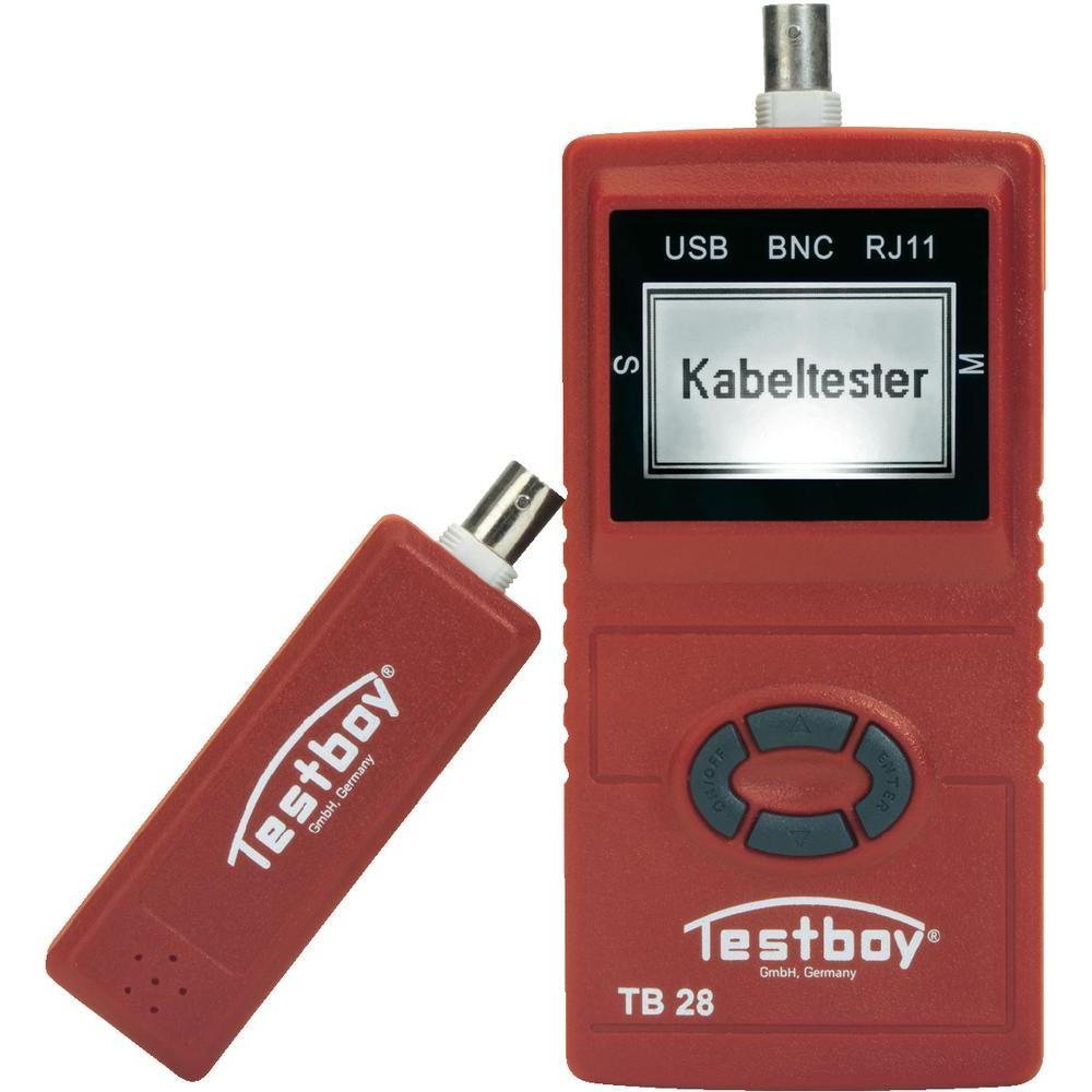 Testboy 28 - тестер сетевых линий (Red)