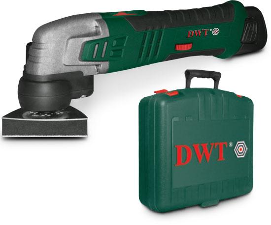 DWT AMS-10,8 LI - многофункциональная шлифмашина (Green)